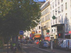 Pigalle駅周辺